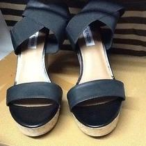 New Women Steve Madden Wedge Open Toe Shoes Photo