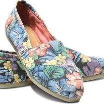 New Women Toms Classic  Faded Tropical  Sandals Flats  Slip-on Shoes  7 Photo