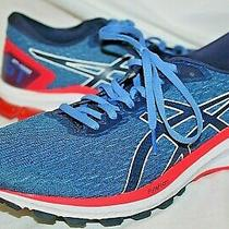 New Womens Asics Gt 1000 9 Running Shoes Blue Black Red Size 10.5 1012a651 Photo