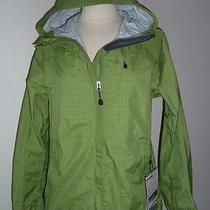 New Womens Eddie Bauer Nisqually Weatheredge Plus Jacket Green M Photo