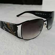 New Womens Fashion Designer Vera Bradley Yellow Bird Sun Glasses Pattern Black Photo