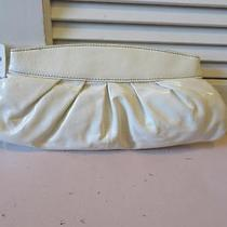 New Womens Fossil White Patent Leather Clutch Photo