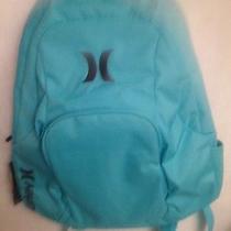 New Womens Girls Hurley Aquamarine Backpack Laptop Book Bag Photo