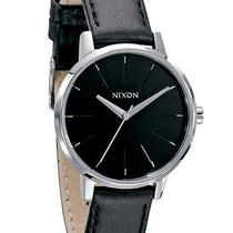 New Womens Nixon Kensington Leather Watch Ladies Watch Photo