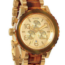 New Womens Nixon the 42 - 20 Chrono Watch Ladies Watch Photo