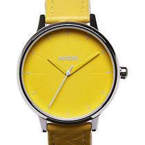 New Womens Nixon the Kensington Leather Watch Ladies Watch Photo