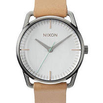 New Womens Nixon the Mellor Leather Watch Ladies Watch Photo