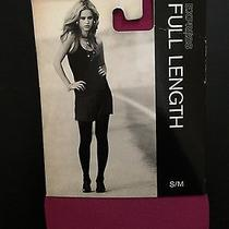 New Womens Nylon Tights Hot Pink by Express Small Photo