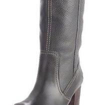 New Womens Size 9 Timberland Rudston Pull-on Dark Green / Black High Heel Boot Photo