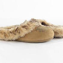 New Womens Slippers by Jessica Simpson Prettiest Tan Sz 6m Photo