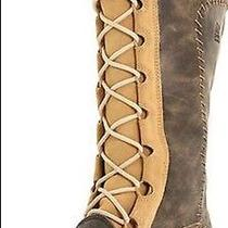 New Womens Sorel Cate the Great Pac Boots Curry/biscotti Waterproof Size12 Photo