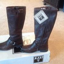 New Womens Tall Smith Engineer Frye Boots Size 7.5  Photo