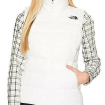 New Womens the North Face Nuptse 700 Fill Goose Down White Puffer Vest Jacket L Photo