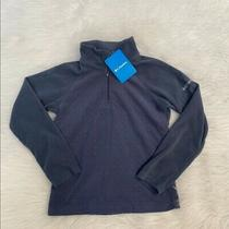 New Wtag-Columbia Glacial Blue 1/2 Zip Pullover Youth S Photo