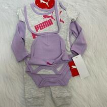 New Wtag-Puma Purple/gray 5pc Newborn Set Photo