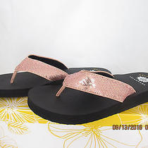 New Yellow Box Alexi 25233 Blush Flip Flop   Thong  Sandals   Sz 10 M Photo