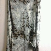 New Yigal-Azrouel Women's 2 Feather Tie Wrap Skirt Made in Usa Photo