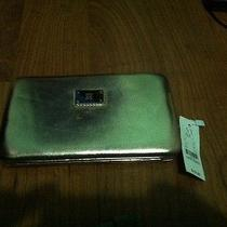 New York and Company Flat Hinge Opera Wallet Nwt Rose Gold/ Copper Photo