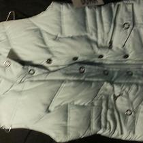 New York Classics Nwt Down Filled Vest Aqua (Size m) Photo