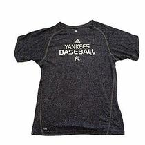 New York Yankees Adidas Climalite Youth Shirt Size Xl Photo