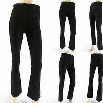 New Yummie Tummie Boot-Cut Shaping Legging Womens S Stretch Athletic Gym Chop Photo