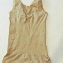 New Yummie Tummie Nude Ruched Front Shaping Tank Sz Xs Photo