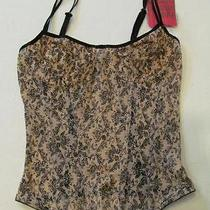 New Yummie Tummie Paisley Strappy by Cup Corset Shaper Sz S Photo