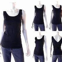New Yummie Tummie Seamless 2-Way Reversible Tank Womens L/xl Cami Top Black Chop Photo