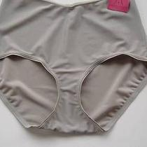 New Yummie Tummie Tricot Briefs Panties Gray Yt6-204 Size Medium Photo