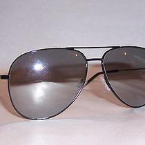 New Yves Saint Laurent Sunglasses Ysl Classic 11/s 006-J5 Black/silver Mirror Photo