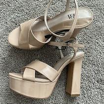 New Zara Blush Pink Sandal High Heels Sandals Size 37 Photo