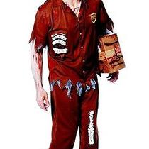 New Zombie Express Std to 46 Men's Delivery Ups Fed Ex Man Franco Costume 49790 Photo