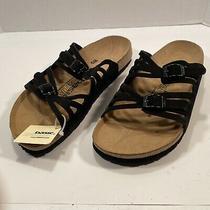 Newalk by Birkenstock Black Straps Sandals 40 Eu  W9 Us Photo