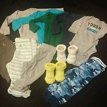 Newborn to 3 Month Boy Nike Baby Gap Lot  Photo