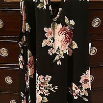 Newbury Kustom Black and Blush Pink Dress Nwt Size Large Photo