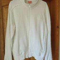 Newcastle Ladies White Puma Track Jacket - Size Medium Photo