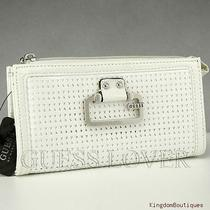 Newest Brand Guess Ladies Wallet Purse Pepper White Slg Usa Photo