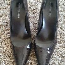 Newport News Women's Brown Croc Pump Womens Us Size 10 Heels Photo