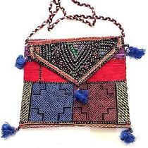Newvintage Hobo Shoulder Bag Tapestry Fabric Traditional Patch Work Bag Bohemian Photo