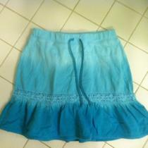 Next Era Girls Light Aqua Ruffle Skirt Size Large   Photo