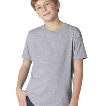 Next Level 3310 Boys' Blank Short-Sleeve Crew Tee Shirt Photo
