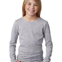 Next Level T Shirt 3711 Simple Girls' the Princess Long Sleeve Tee Photo
