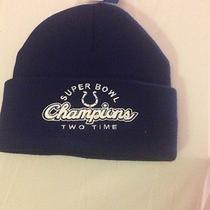 Nfl Colts Two Time Super Bowl Xli and v Champion Hat Photo