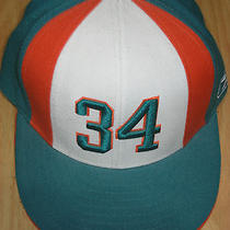Nfl Miami Dolphins Ricky Williams Fitted Cap Photo