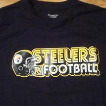 Nfl Pittsburgh Steelers Reebok T Shirt L Photo