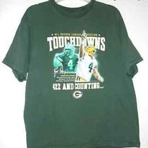 Nfl Record Career Passing Brett Favre Green Bay Packers 422  Counting Xl T-Shirt Photo