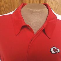 Nfl Reebok Kansas City Chiefs Polo Shirt  Size 2xl New Without Tags Photo
