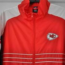 Nfl Team Apparel Reebok New Kansas City Chiefs Sports Illustrated Largejacket Photo