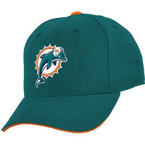 Nfl Team Apparel Youth Miami Dolphins Basic Structured  Cap Youth Team Photo