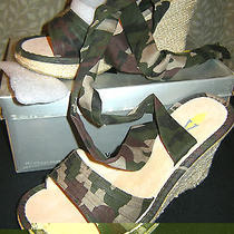 Ni Volatile Style Jungle Christy Camouflage Size 8 Ankletie Espadrille Wedge Photo